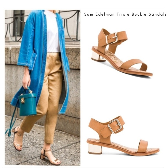 ccdd1a4f86b2 Sam Edelman Trixie Camel Sandals